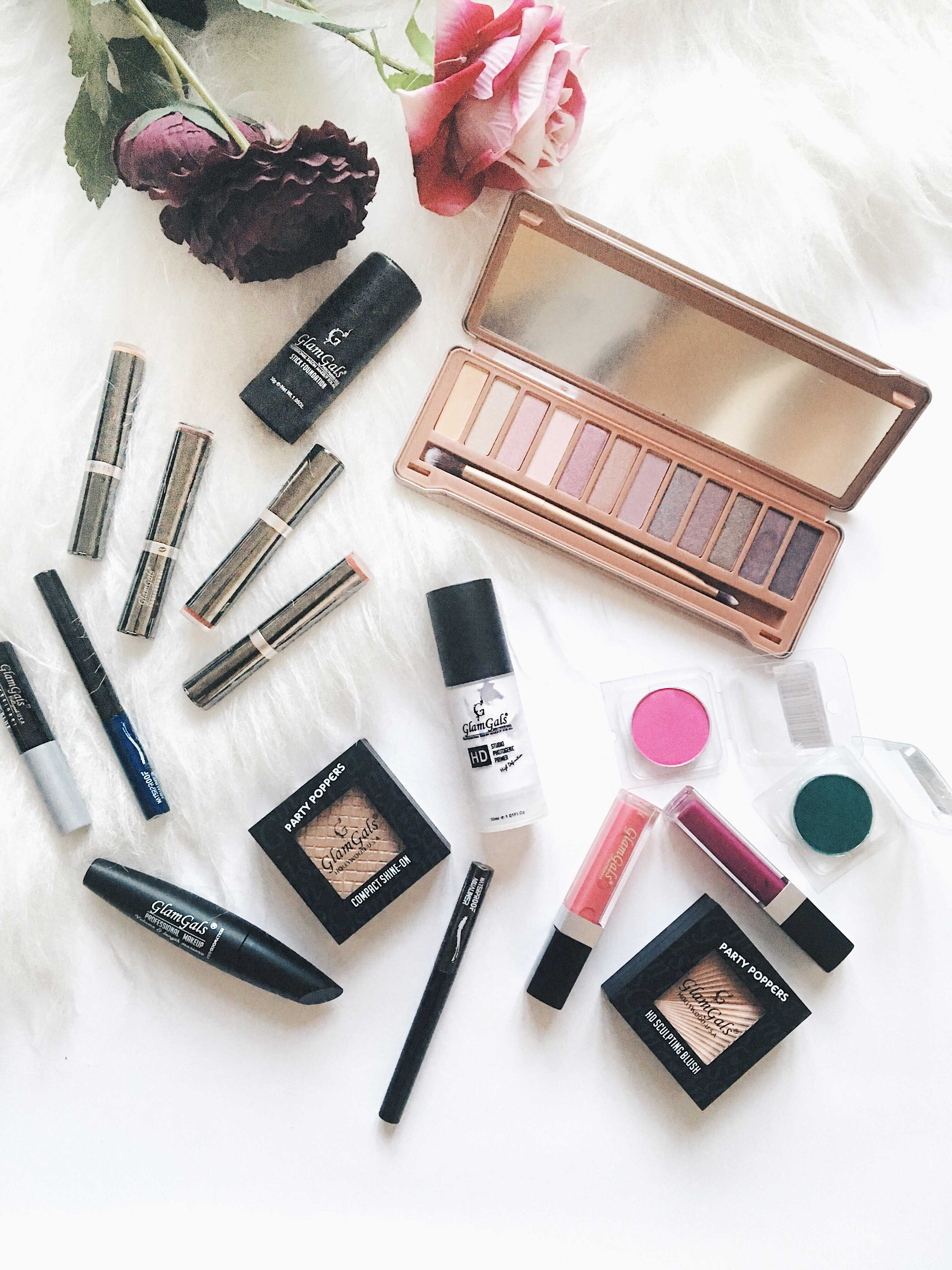 Makeup Looks Ft. GlamGalsCosmetics + Review 02